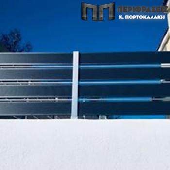 Deck αλουμινίου γαλβανισμένο και ηλεκτροστατικά βαμμένο. Προιόντα